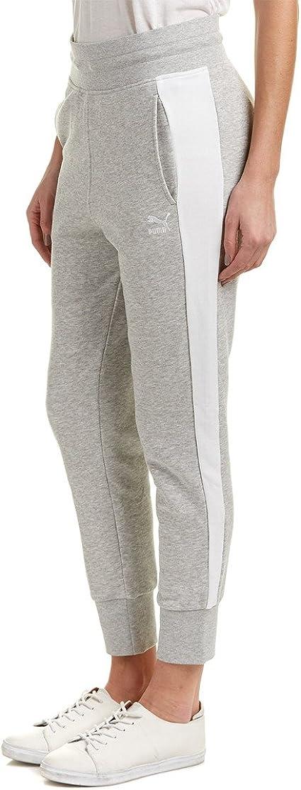 Puma Archivo Logo T7 Pantalones de chándal de la Mujer: Amazon.es ...