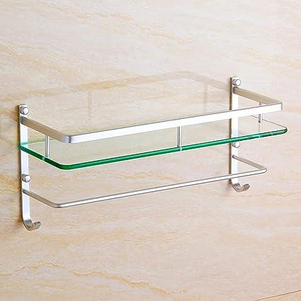 Cool Amazon Com Hpll Bathroom Shelf Tempered Glass Bathroom Download Free Architecture Designs Scobabritishbridgeorg