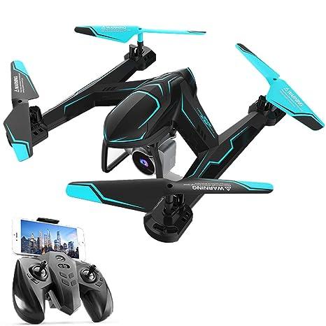 JJR/C RC WiFi FPV Mini Quadcopter Avión Drone con Cámara 720P ...
