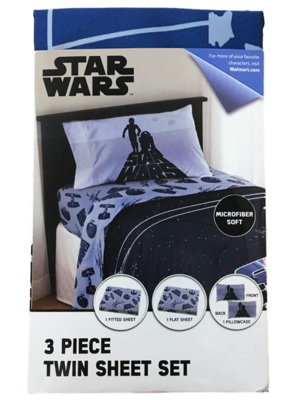 Jay Franco Star Wars 3 Piece Microfiber Twin Sheet Set
