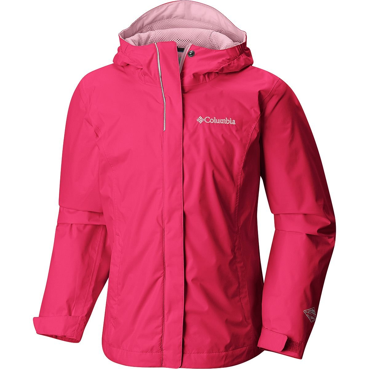 Columbia Big Girls' Arcadia Jacket, Punch Pink, M