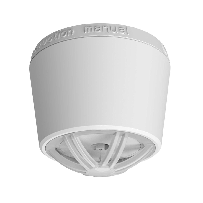 SEBSON Detector de Calor incluye Soporte Magnético, Batería de Litio de Larga Duración 10 Años, Mini Detector de calor para cocina/baño, Ø50X43,5mm, ...