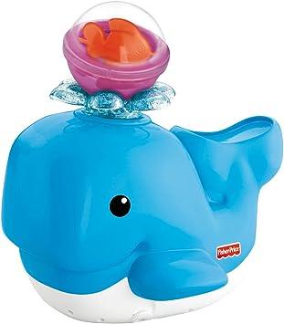 Fisher Price - Ballenita baño divertido (Mattel V4377): Amazon.es: Juguetes y juegos