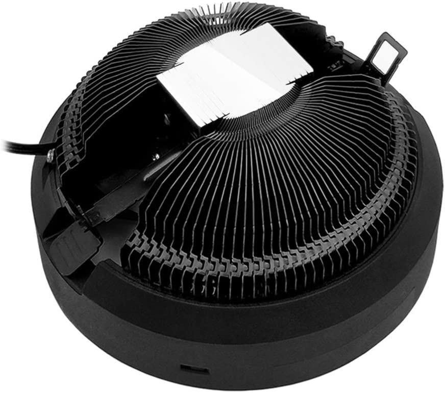 IMIKEYA Computer Cooling Fan Aluminum CPU Cooler LED Computer Case Fan High Airflow Fan for Computer Cases Cooling