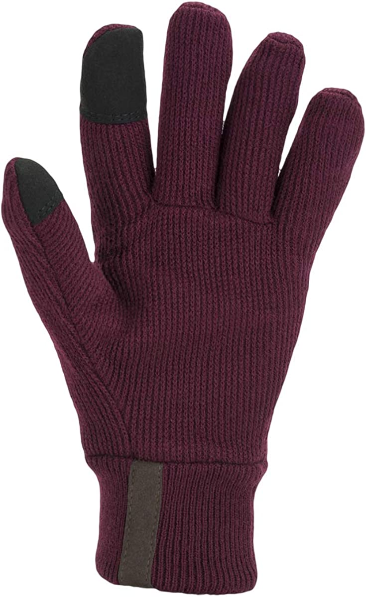 SealSkinz Unisex Windproof All Weather Knitted Gloves