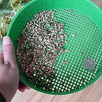 Kofun Chapa de plástico para Jardín, Color Verde