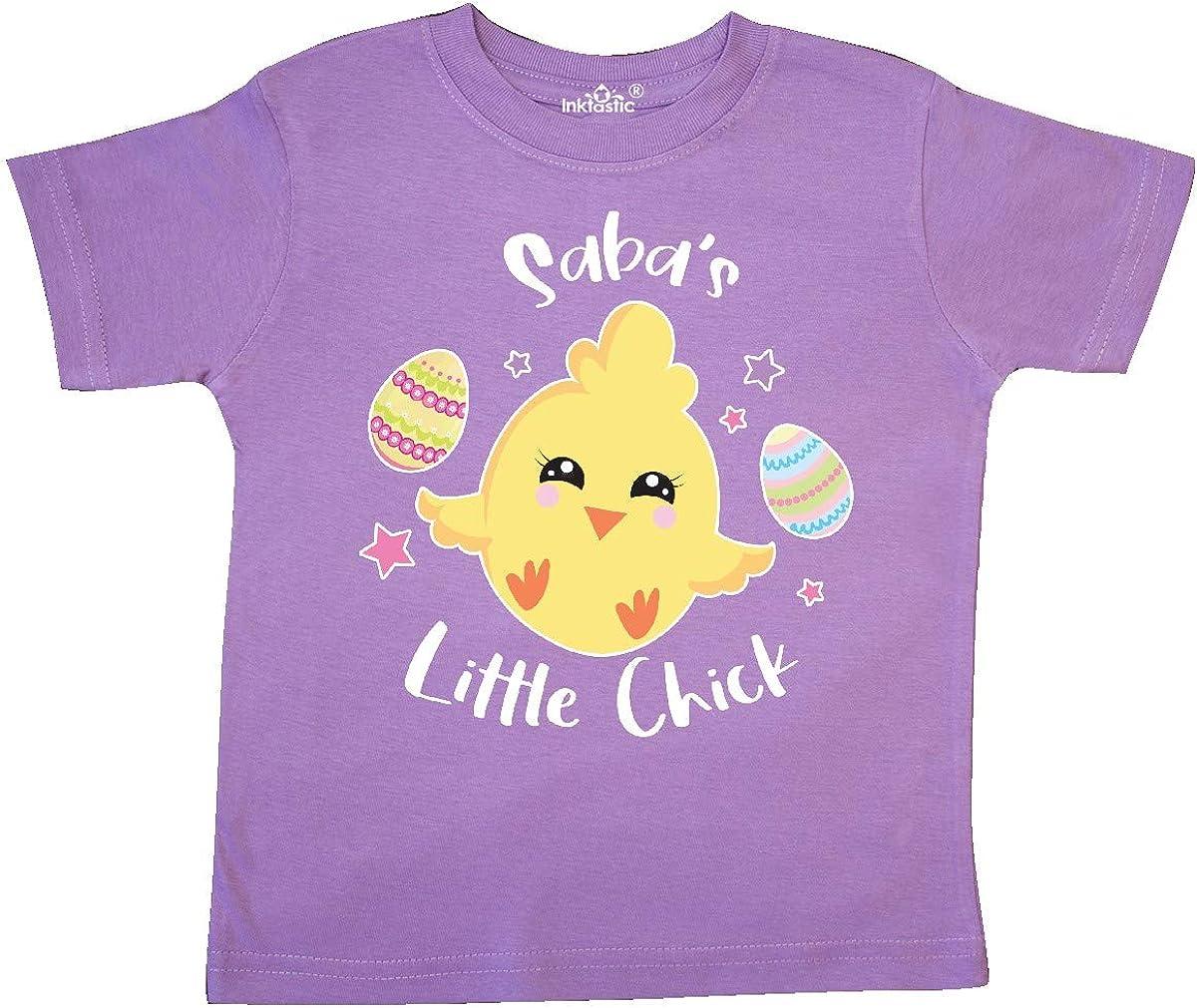 inktastic Happy Easter Sabas Little Chick Toddler T-Shirt