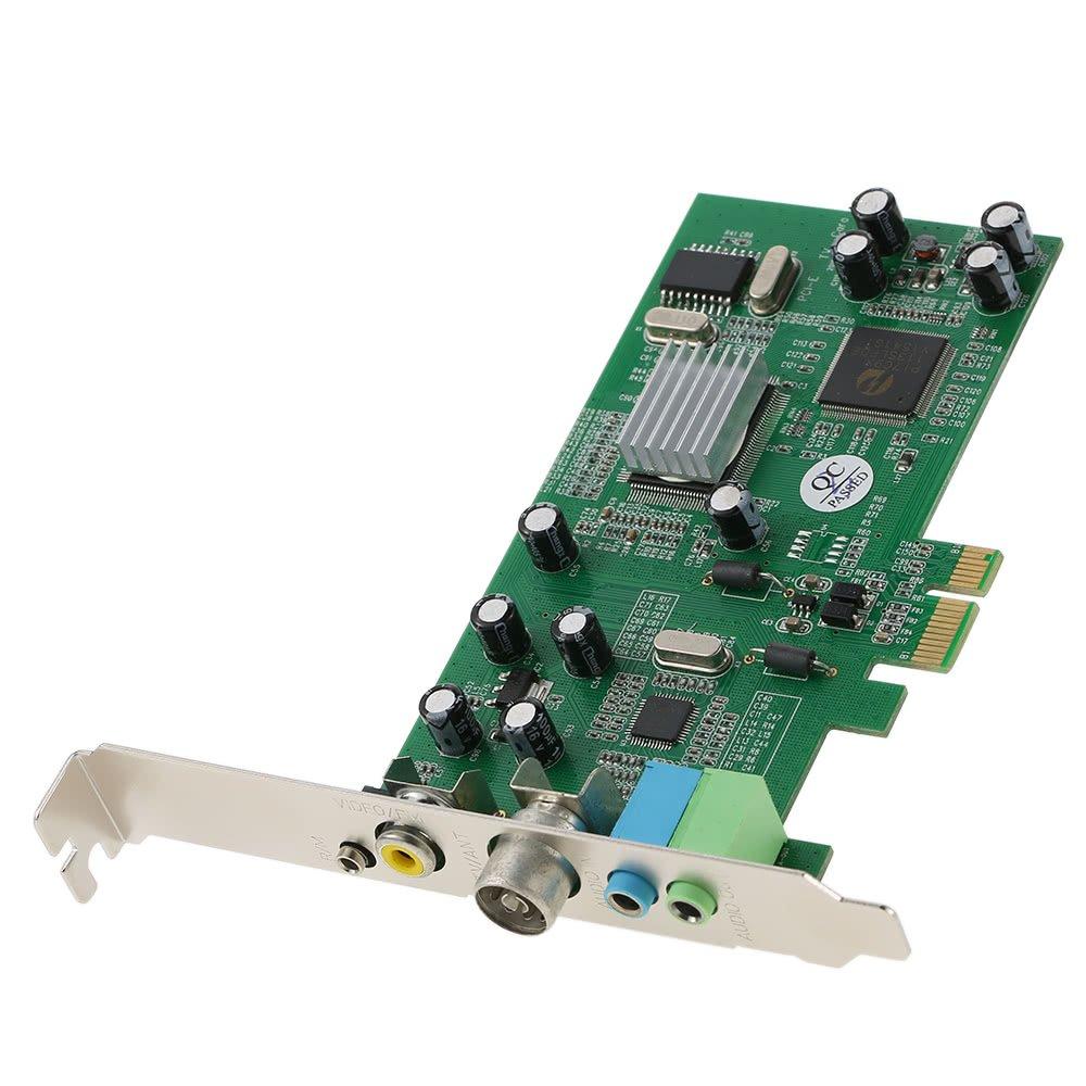 PCI-E Internal TV Tuner Card MPEG Video DVR Capture Recorder PAL BG PAL I NTSC SECAM PC PCI-E Multimedia Card Remote