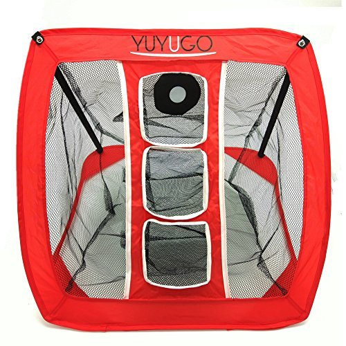 YUYUGO Golf Chipping Net Collapsible Trainning Target Net Practice In/Outdoor (Chipper Net)