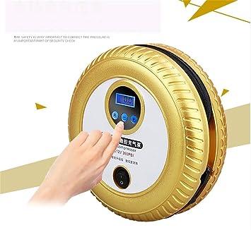 AWYL Compresor de Aire y neumático pequeño y portátil de 12V y 260 PSI para automóvil/Bicicletas / RVs con indicador Digital y Apagado automático,Oro: ...