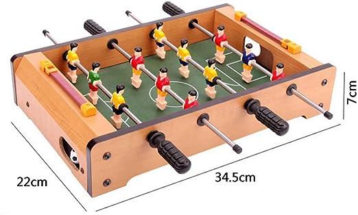 GG-Kinderspielzeug Mesa de fútbol Máquina de Mesa Escritorio de fútbol Doble Juego Interactivo Mesa 3-10 años de Edad, niño de Juguete Juguete Interactivo Entre Padres e Hijos niños: Amazon.es: Hogar