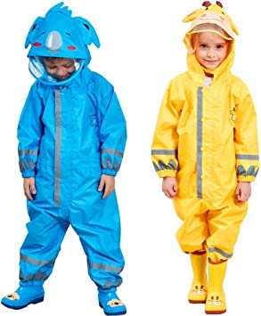 Amazon.com: SDJIEM - Traje impermeable para niños con ...