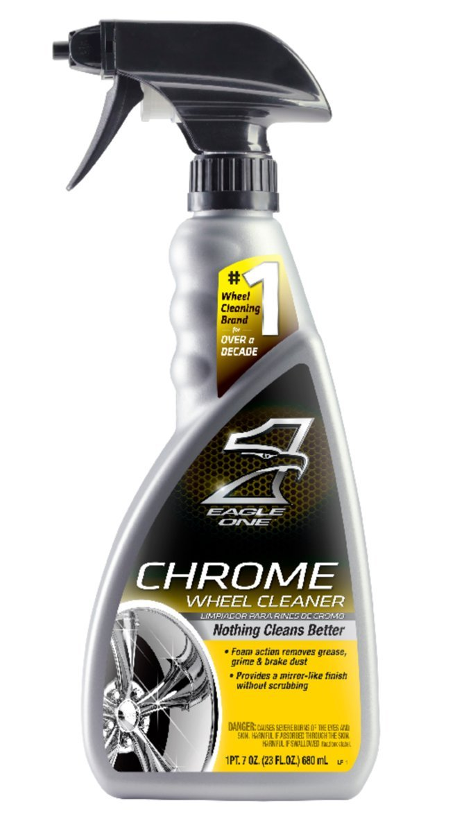 Amazon.com: Eagle One 824332-6PK Chrome & Wire Wheel Cleaner - 23 oz. Pack of 6: Automotive