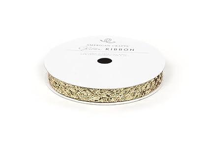 American Crafts Glitter Tape Gold 3//8-Inch