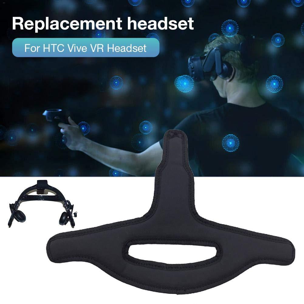 Chalkalon Coj/ín de Esponja Diadema de Repuesto Cinta para la Cabeza Almohadilla Interior a Prueba de Sudor para HTC Vive Auricular VR