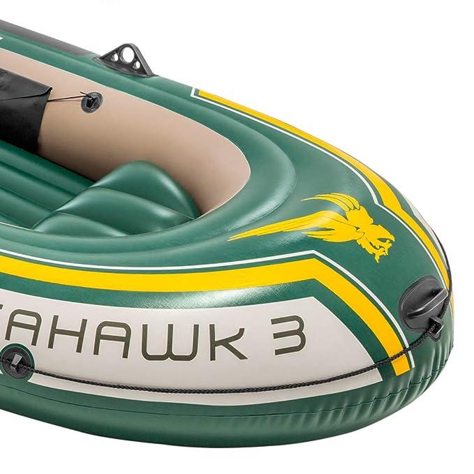 Intex 68380NP - Barca hinchable Seahawk 3, con remos aluminio 295 ...