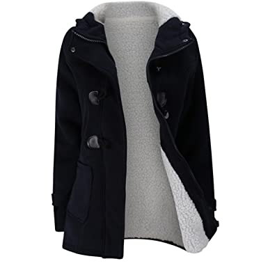 6fa4198c68 Mose New Fashion Women Plus Size Long Sleeve Winter Warm Slim Thicker Parka  Long Coat Overcoat. Roll over image to ...