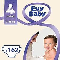 Evy Baby Bebek Bezi, Maxi 4 Beden, 162 Adet