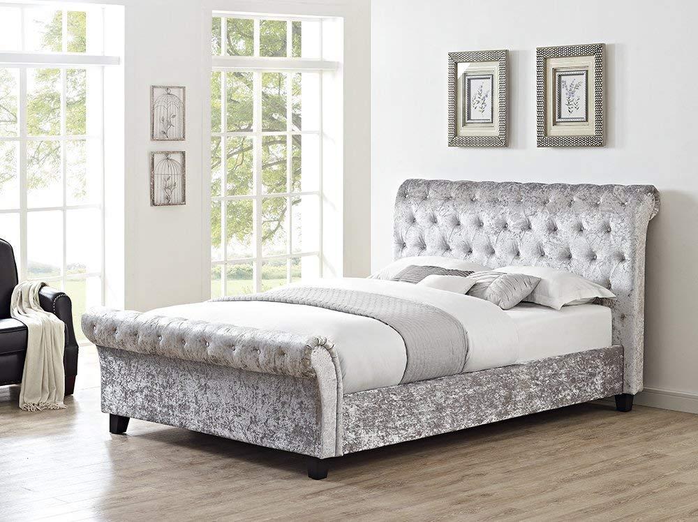 DANIAL BED MANUFACTURER Chesterfield Classy Modernen Bett Schlitten ...