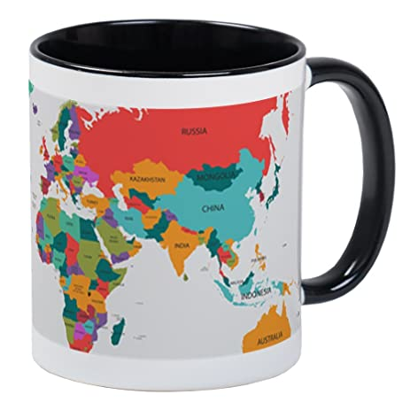 Amazon cafepress world map with the name of the countries cafepress world map with the name of the countries mugs unique coffee mug gumiabroncs Gallery