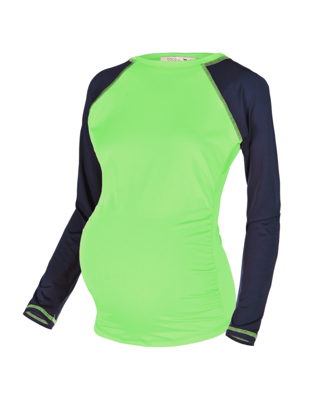674968ebabf92 Amazon.com: Beachcoco Women's Maternity Swim/Beach Rash Guard Swim Shirts  Made in USA: Clothing