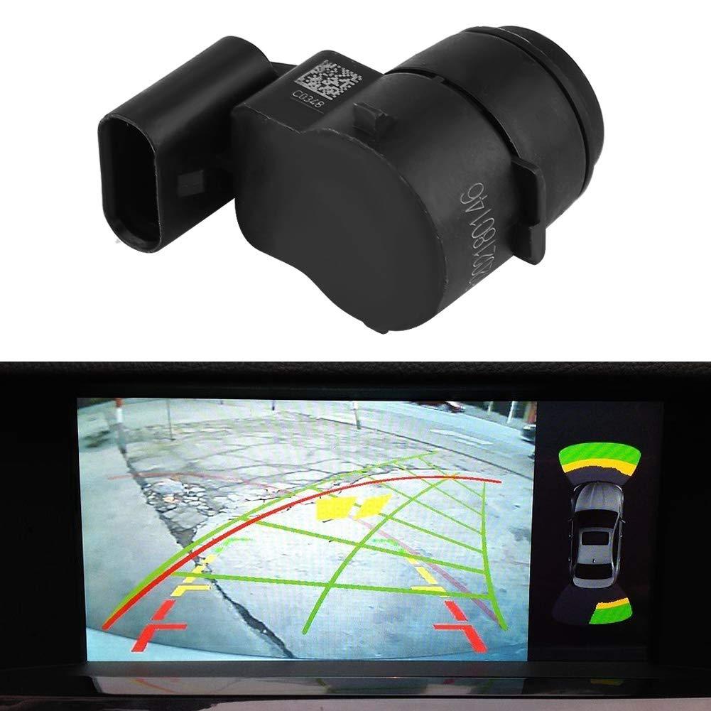 Akozon Sensor de aparcamiento PDC Negro Sensor de control de la distancia de aparcamiento 66202180146 para E81 E82 E90 E91 E92 E93 X1 Z4 Mini Cooper