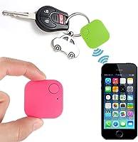 Cindere Mini Smart Bluetooth Tracker Locator Finder Square Car Kids Pets Old Man Anti-Lost Animal Wallet Keys Locator Alarm Real Time Finder Device