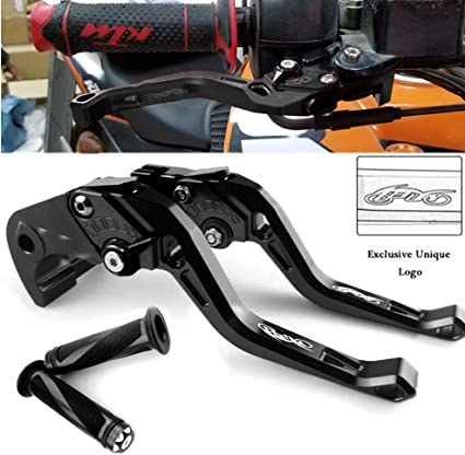 BLACK AERO SHORT MOTORCYCLE CLUTCH BRAKE LEVER YAMAHA YZF R6 99 00 01 02 03 04