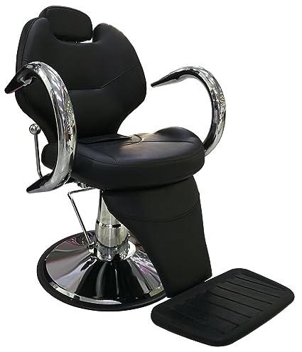 LOVECRAZY Sillón Profesional de Peluquería Barbero Masaje ...