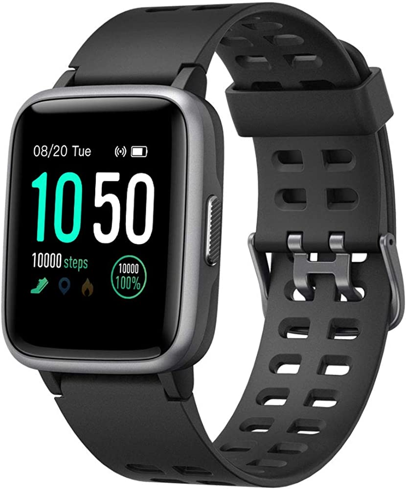 Amazon Com Yamay Smart Watch For Android And Ios Phone Ip68 Waterproof Fitness Tracker Watch With Heart Rate Monitor Step Sleep Tracker Smartwatch Compatible With Iphone Samsung Watch For Men Women Black Clothing