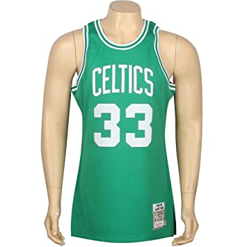 Larry Bird Boston Celtics Mitchell & Ness Authentic 1985 – 86 Green NBA Jersey Camiseta