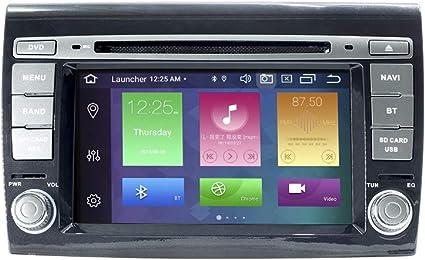 Android Car Radio Stereo, ZLTOOPAI per Fiat Bravo 2007-2012