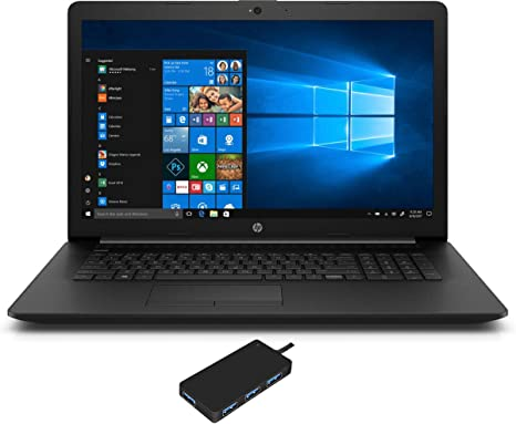 HP 17-BY3613DX Home and Business Laptop (Intel i5-1035G1 4-Core, 32GB RAM, 256GB PCIe SSD, Intel UHD Graphics, 17.3