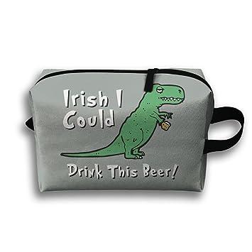 Amazon.com: T-Rex dinosaurios Drink Beer carcasas de viaje ...