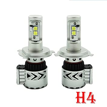 tuoyike G8 LED Faros Kit H4 HB2 9003 80 W 12000LM XHP-50 LED chips