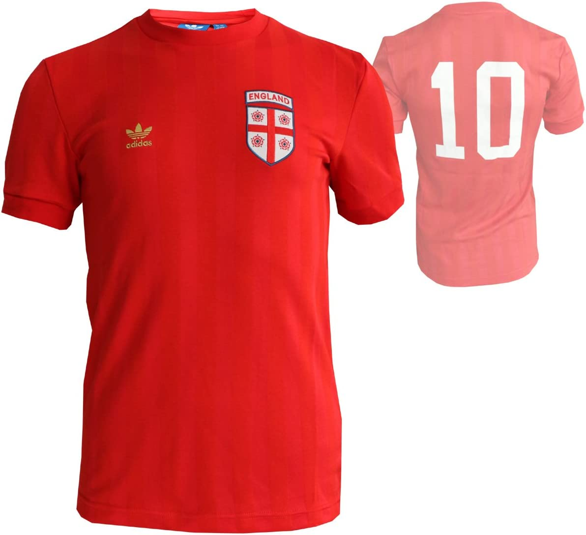 colisión tono Izar  adidas England Originals Tee Fan T-Shirt Red World Cup Fan Item National  Team RU, Size: XS: Amazon.co.uk: Clothing
