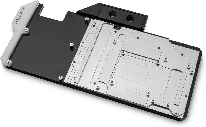 EKWB EK-Quantum Vector FTW3 RTX 2080 Ti GPU Water Block Nickel//Acetal D-RGB
