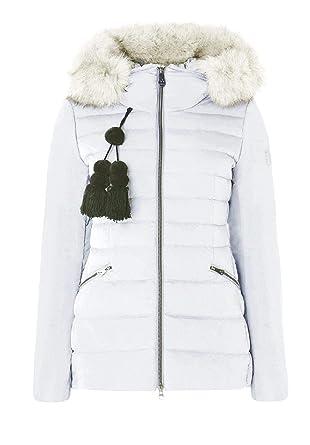 Peuterey Piumino Donna turmalet 02 Fur ped3040 Slim Pelliccia 770 Acciaio  fw 18  Amazon.co.uk  Clothing 46edf7e566a