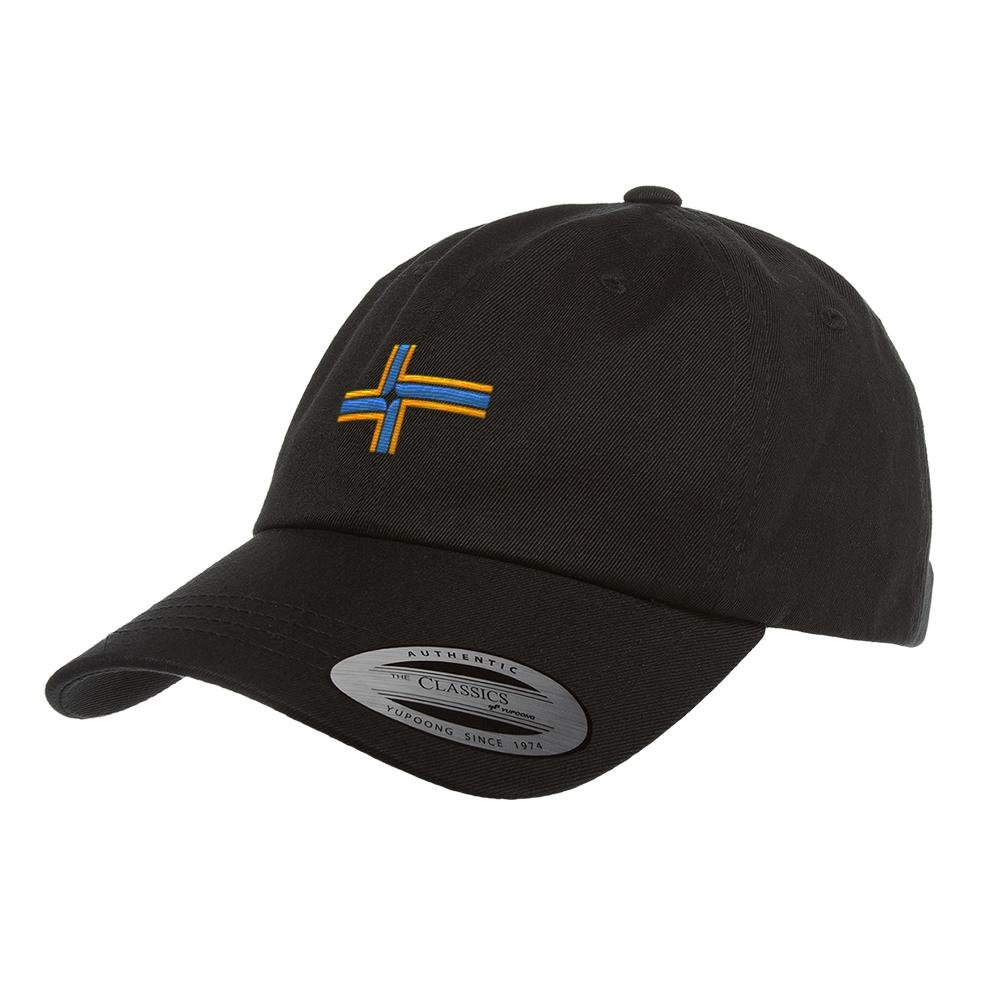 Amazon.com  Portland Oregon Official Flag Dad Hat Low Profile Cotton Twill  6245CM - Black  Sports   Outdoors ec7ce8e81206