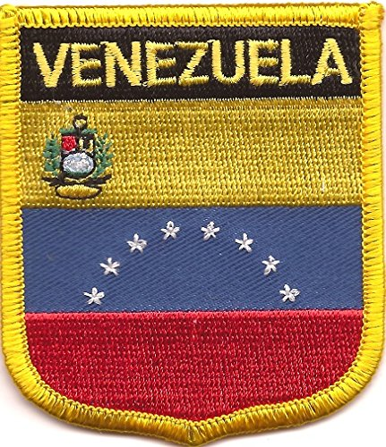 Venezuela Flag Patch Shield (2.75
