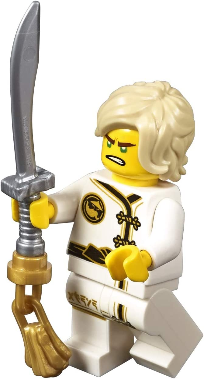 The LEGO Ninjago Movie Minifigure - Lloyd in White Wu-Cru Training Gi (Limited Edition)