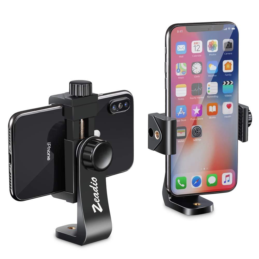 Zeadio Soporte para Smartphone, con función de rotación de 360 Grados y Monopod Selfie