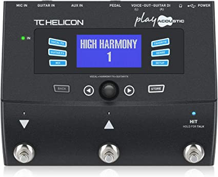 Amazon.com: TC Helicon Play Acoustic Vocal Effects Processor: Musical  Instruments