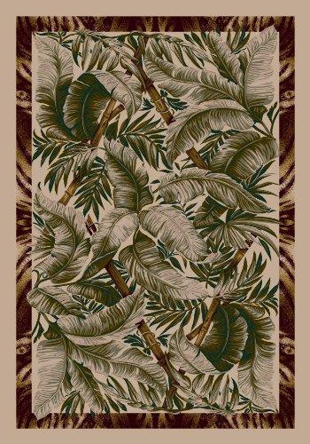Milliken Signature Jungle Fever Pearl Mist Rug Rug Size: Square 7'7