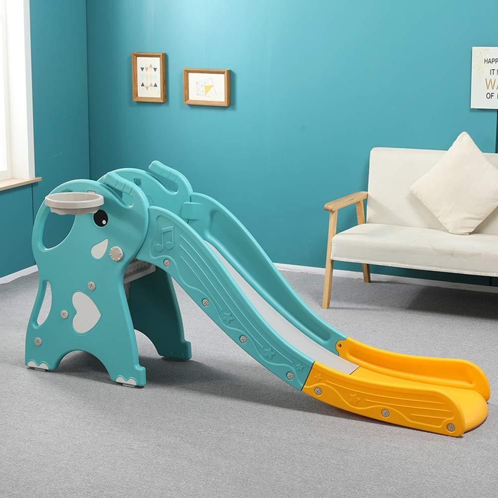 XXM Childrens Slide,Playground Play Area Garden Slide Plastic Children Toys Slide for Outdoor and Indoor Elephant by XXM