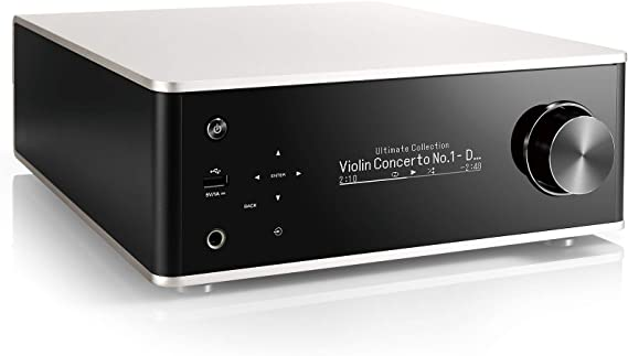 Denon PMA-150H Integrated Network Amplifier - Full Digital Amplification | 70W Power per Channel | HEOS Built-in + Wi-Fi + Bluetooth | USB-DAC and Phono Input | OLED Display