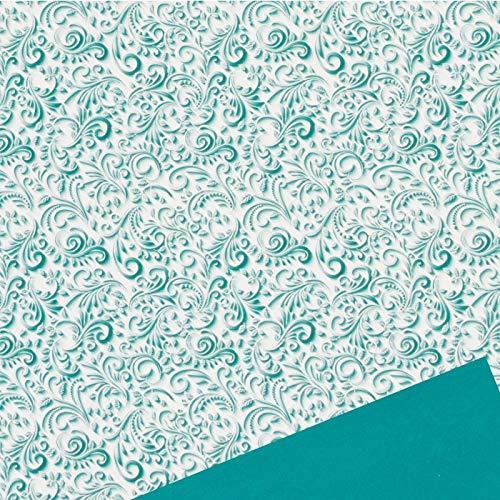 Carta Regalo Smeraldo, 25 fogli, 70x100 cm DAR