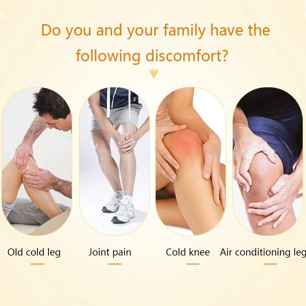 TY BEI Kneepad Kneepad Self-Heating Warm Breathable Old Cold Leg Knee Protection Joint - Two Colors Optional @@ (Color : B) by TY BEI (Image #4)