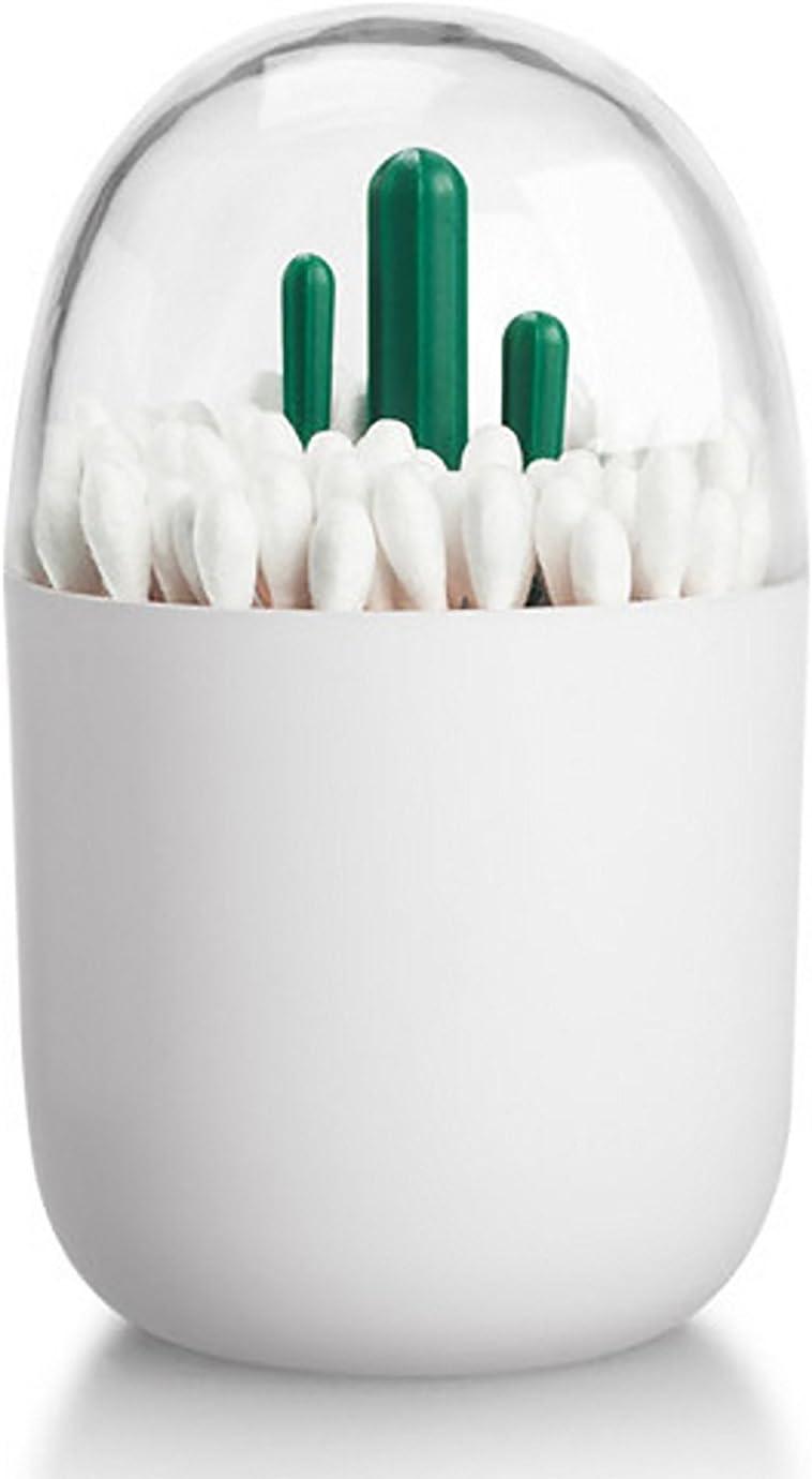 Cactus Organisateur de Stockage de Petit Q-Tips Cure-Dents TOOGOO Porte-ecouvillon en Coton