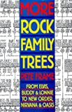 More Rock Family Trees (Family trees)